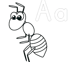 Ant Man Coloring Pages Ants On Book Info Army Preschool To Page Printable Print Flowers And