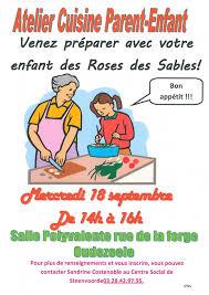 atelier cuisine centre social atelier cuisine parent enfant mairie d oudezeele