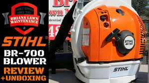 Stihl BR 700 Backpack Blower Review
