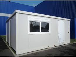 bungalow bureau de chantier connectables contact containers