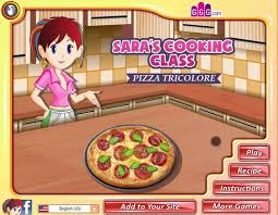 girlsgogames cuisine s cooking class pizza tricolore a free for on