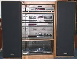 The of the home stereo system