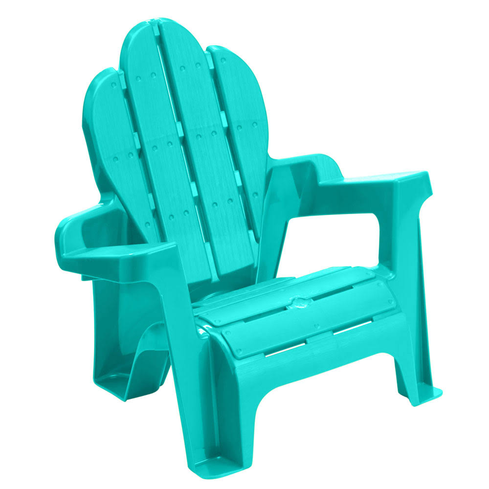American Plastic Toy Adirondack Chair - Blue