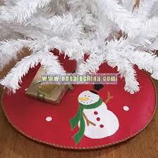 Snowman Mini Tree Skirt
