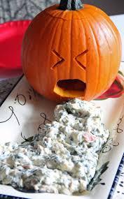 Vomiting Pumpkin Dip by Jo And Sue Halloween Dinner 2013