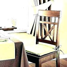 Dining Room Chair Back Cushions Seat Pads Wonderful