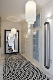 apartment harmonizes with nature through nouveau elements