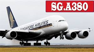 Singapore Airline A380 B777 A330 Landing To Changi Airport