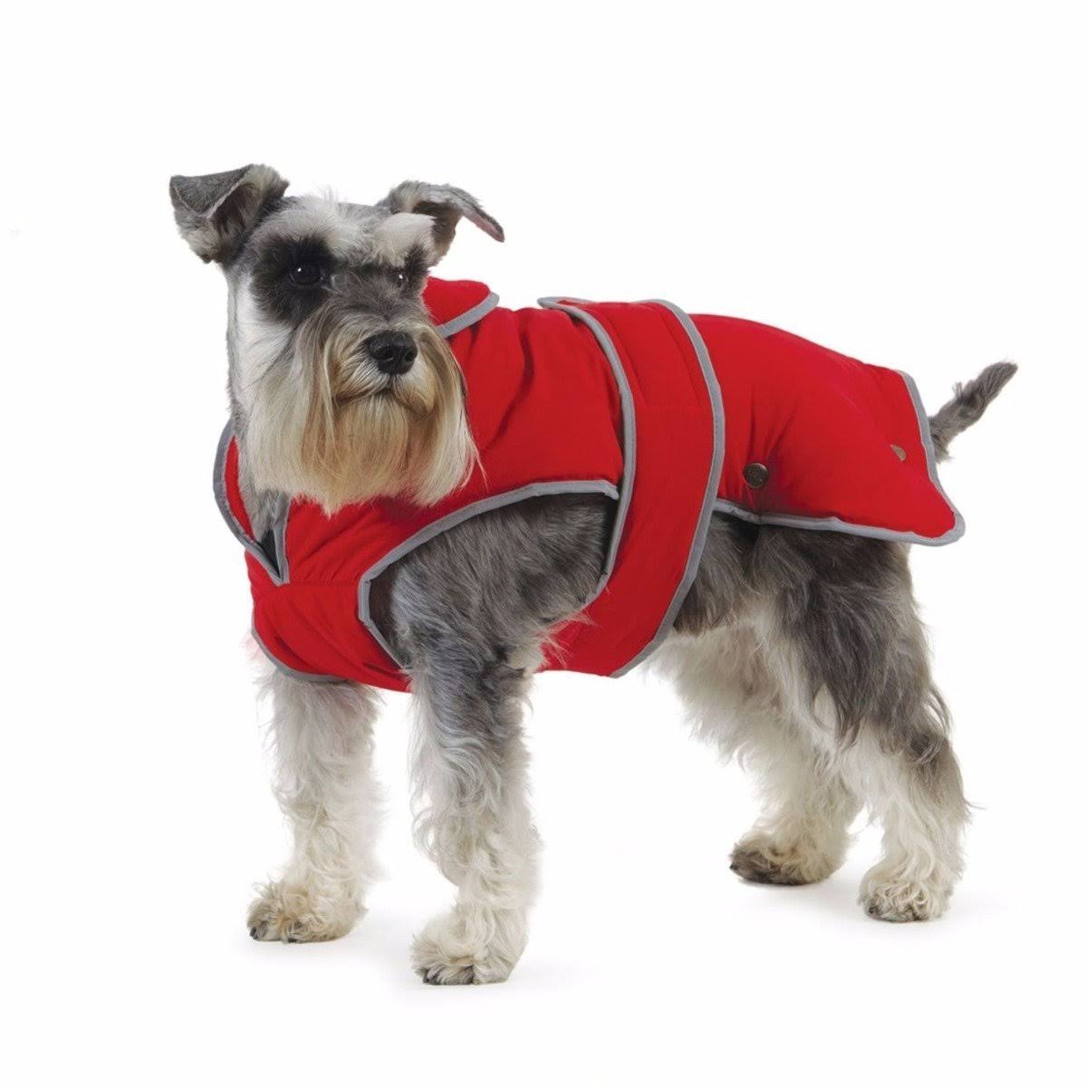 Stormguard Dog Coat - Red, Medium