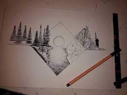 California Drawing Tumblr New Orginal Iceberg Underneath The Surface 70 00 Via Etsy