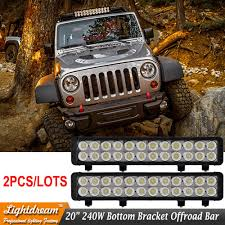 DHL 20Inch LED Light Bar 240w Truck Roof Off Road Tractor Light ... 75 36w Led Light Bar For Cars Truck Lights Marine High Quality 4 Led Car Emergency Beacon Hazard 50inch Straight Led Light Bar Mounting Brackets Question Jeep Cherokee Forum Inchs 18w Cree Light Bar Work Spot Lamp Offroad Boat Ute Car Double Side 108w Beacon Warning Strobe 6 Smd Work Reversing Red 15 11 Stop Turn Tail 3rd Brake Cheap Rooftop Better Than Stock Lights Toyota Fj 18 108w Cree 3w36 8600lm Off Road Atv