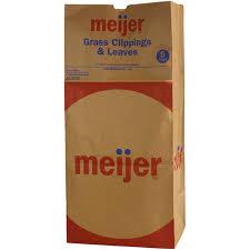 Meijer Christmas Tree Tote by Meijer Paper Lawn U0026 Leaf Bags 5 Bags Meijer Com