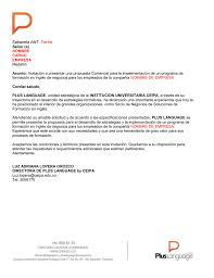 Carta Estándar Para Propuestas Empresariales