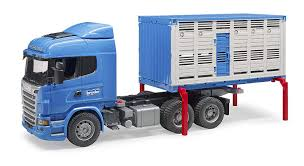 100 Cattle Truck For Sale Amazoncom Bruder Scania RSeries Transportation With