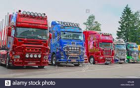 PORVOO, FINLAND - JUNE 27, 2015: Line Up Of Scania, Volvo And ... Convoy Truck Show Fitzgerald Semi Casual Photos Pride Polish Show Trucks Shine At 2016 Great American Wallpaper Wallpapers Browse 75 Chrome Shop Image Result For Airbrushed Truckscom Autos Pinterest Alexandra Blossom Festival Saturday 23th September 2017 North Commercial Vehicle Atlanta The Big Rig Trucks Midamerica Dump Wheels Wsi Xxl Model Mats Ordrive Owner Operators Trucking