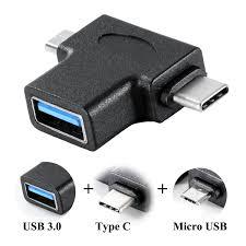 Amazoncom UNIDOPRO USB 30 OTG Cable Adapter Micro USBType C