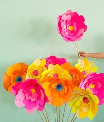 Giant Paper Flower DIY