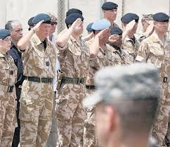 Most Decorated Soldier Uk by Five Hampshire Soldiers Remembered As 1pwrr Leave Basra Daily Echo