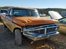 100 1975 Ford Truck For Sale F100 For Sale At Copart China Grove NC Lot 22895549