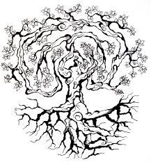 Tree Tattoo By Saarsel