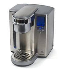 Breville BKC600XL Stainless Steel Gourmet Keurig K Cup Single Coffee Brewer