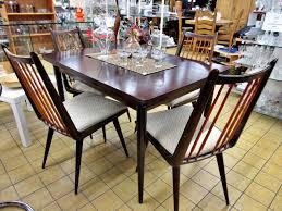 essgruppe tisch stühle retro original 50er 60er jahre