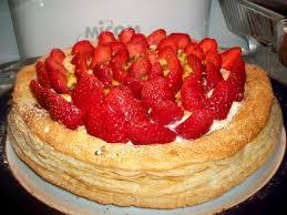 tarte aux fraises pate feuilletee recette tarte feuilletée aux fraises et mascarpone cuisinez tarte