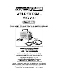 Central Pneumatic Floor Nailer User Manual by Welder Users Guides From