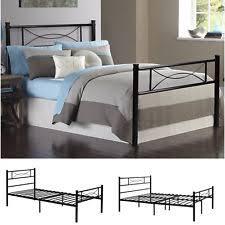 Platform Metal Bed Frame by Platform Bed Frame Ebay
