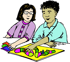Kids Playing Board Games Clipart