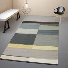 moderner teppich skandinavisch farbverläufe multicolor