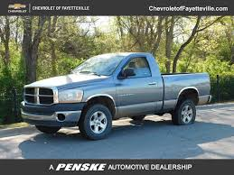 100 Used Dodge Truck 2006 Ram 1500 2dr Reg Cab 1205 4WD ST At Fayetteville