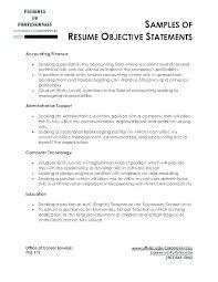 Sample Resume Bartender Examples For Objectives Best