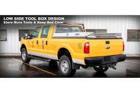 Highway Products® - Nissan Titan XD 2016-2018 Low Side Mount Tool Box