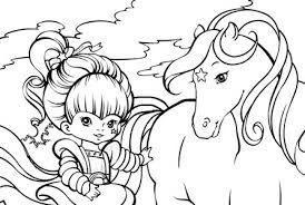 Free Printable Rainbow Brite Coloring Pages Google Twit Regarding Awesome And Also Lovely Bright