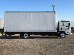 2018 New Isuzu NPR HD (20ft Box With Lift Gate) At Industrial Power ...
