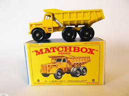 Lesney Matchbox # 6 C – Euclid Quarry Truck | Trade Me | Matchbox ...