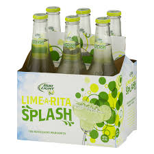 Bud Light Lime Rita Splash Lime 6 pack 12 fl oz Walmart