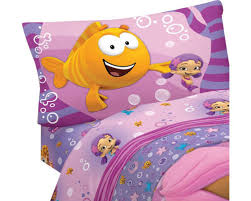 bubble guppies bedding