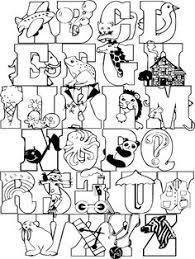 Full Alphabet Coloring Page Colorpages Coloringpages
