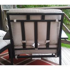 Ty Pennington Patio Furniture Mayfield by Ty Pennington Del Sol Replacement Cushion Set Garden Winds