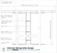 Typical Dining Table Dimensions Standard Width Room Length And Small Images
