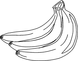 Black and white banana clipart free clipart images 2