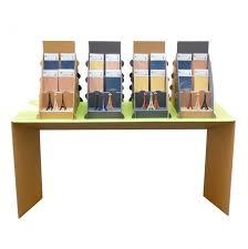 pr駸entoir bureau présentoir en ou plv design