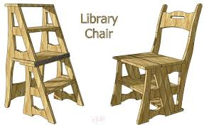 library chair ladder furniture pinterest folding chairs and