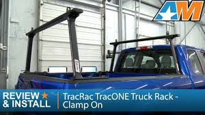 1997-2016 F-150 TracRac TracONE Truck Rack - Clamp On Review ...