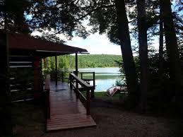 fgrid Life Log Cabin at Lake of Two Rivers Algonquin Park