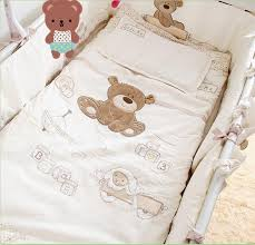 Baby Crib Bedding Sets For Boys by Sale Baby Bedding Set Applique Embroidery 3d Bear Baby Crib