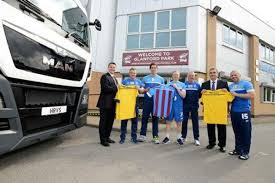 MAN And HRVS Sign Sponsorship Deal With Scunthorpe United ... Ud Trucks Quon Welcome To Croner Volvo Ram Print Advert By The Richards Group Inspiration Ads Of The Kenworth Truck Centres Pictures Childrens Convoy 2016 Bridgwater Mercury Innovation Wikipedia Iraq Is Waiting For 266 Cte Truckmounted Platforms