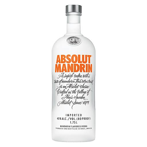 Absolute Mandarin Vodka